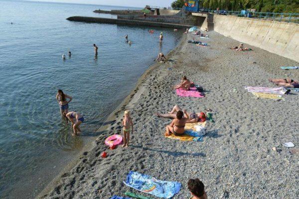 Пансионат Ай-Лия в Крыму: пляж