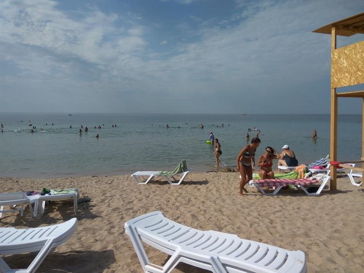 Санаторий «Таврия» все включено в Евпатории: пляж