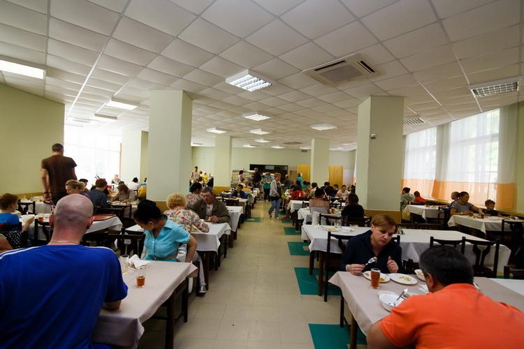 Санаторий «Таврия» все включено в Евпатории: питание