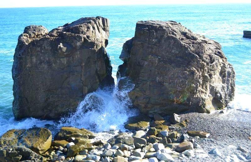Черновские камни в Алуште, Крым