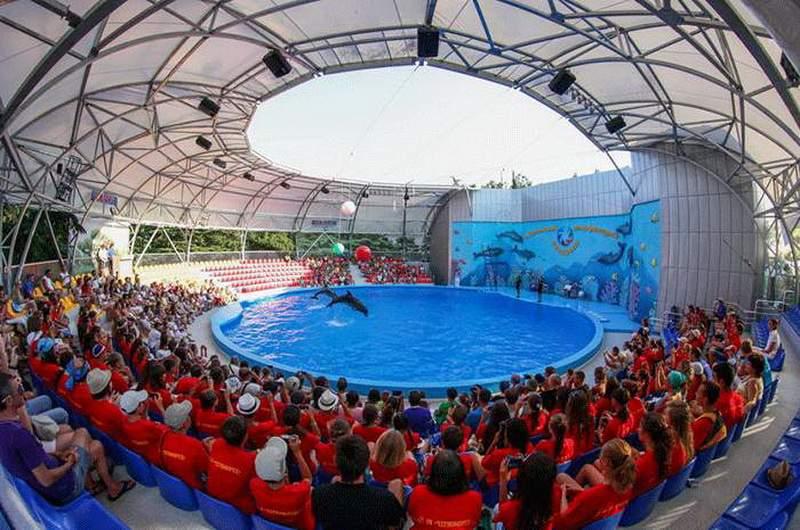 дельфинарий «Акварель» в Крыму