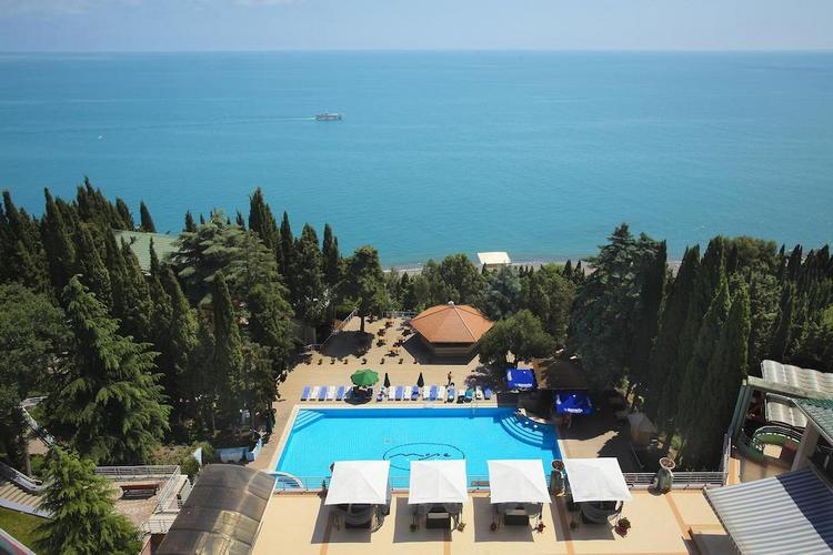 "Спа-отель ""Море"" в Алуште ""все включено"""